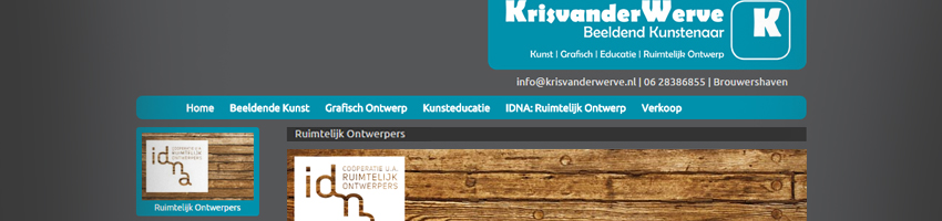 website_krisvanderwerve